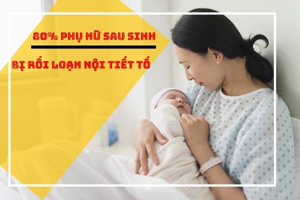 Nội tiết tố nữ thay đổi như thế nào sau sinh?